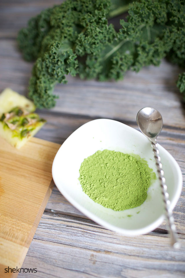 Matcha Green Tea Power Smoothie 4