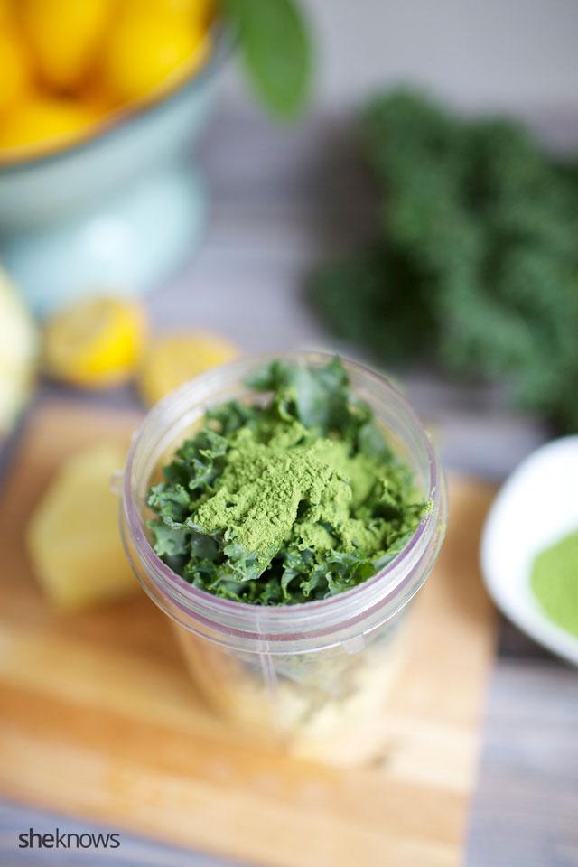 Matcha Green Tea Power Smoothie 3