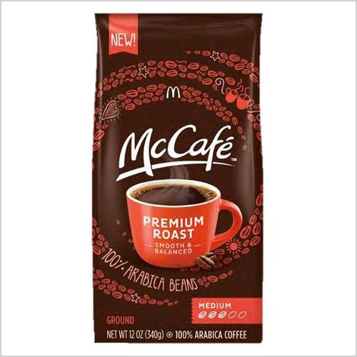 McDonalds premium roast coffee