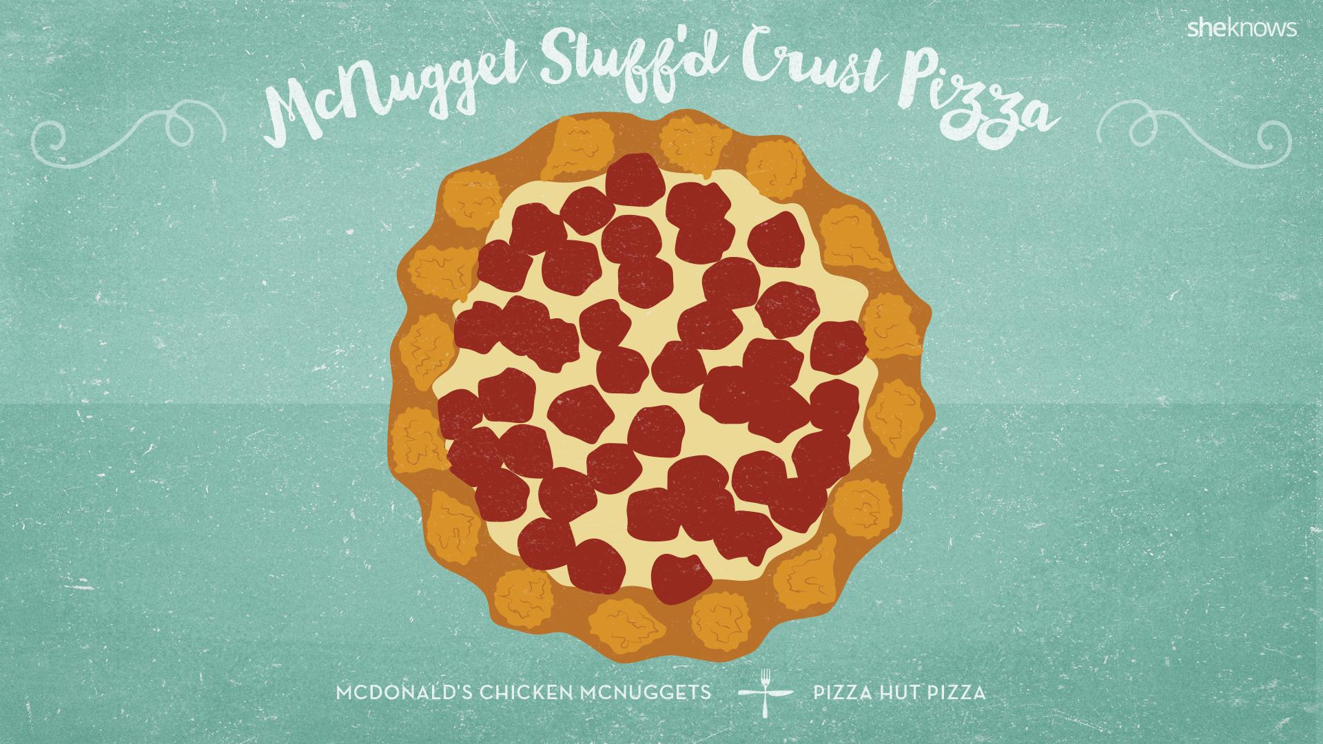 McNugget Stuff'd Crust Pizza