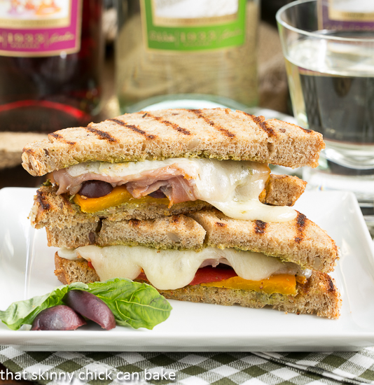 olive grilled cheese
