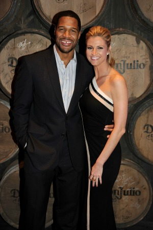 Michael Strahan and Erin Andrews