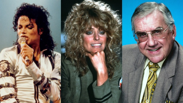 Michael Jackson, Farrah Fawcett, Ed McMahon