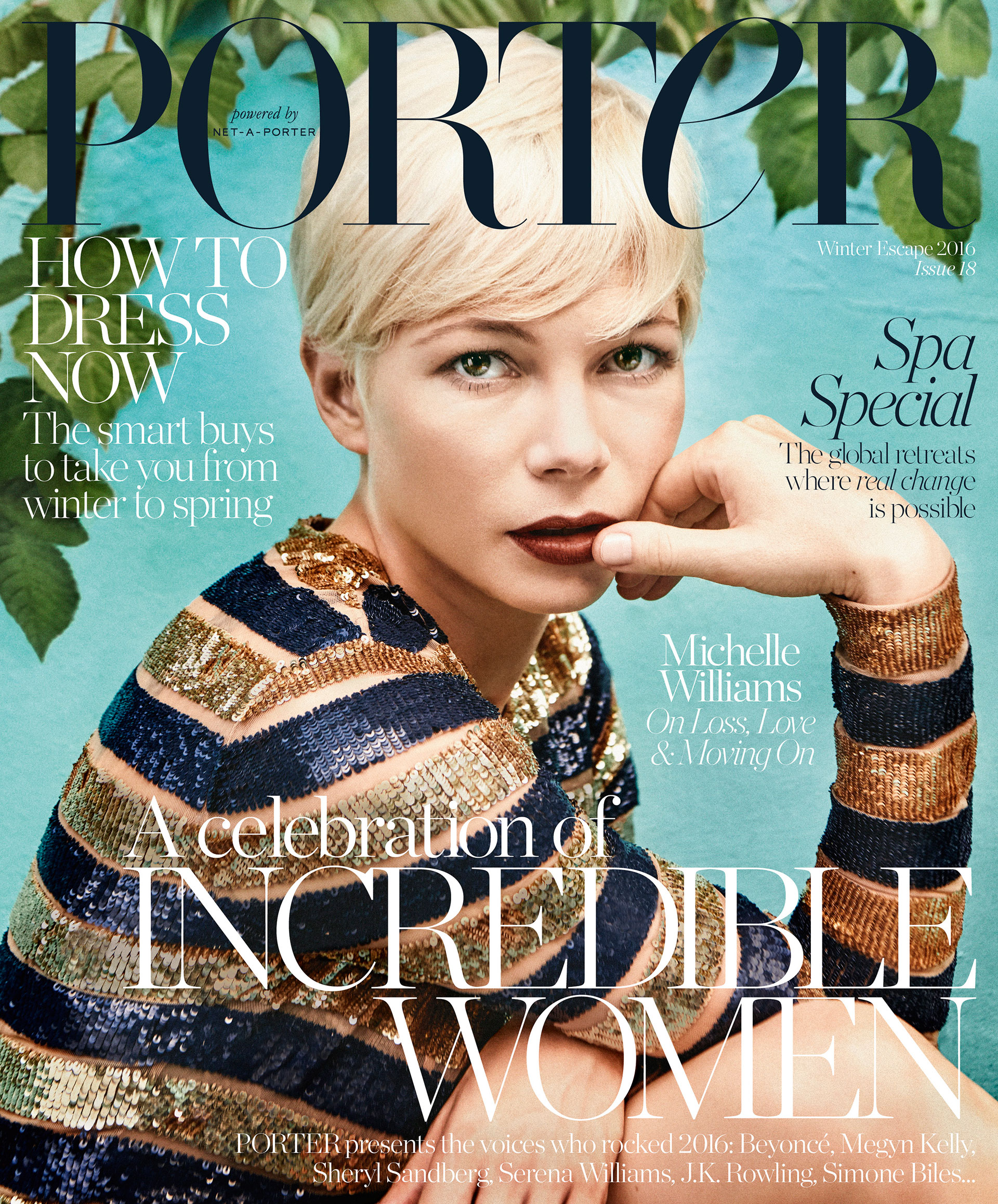 Michelle Williams Porter Magazine cover