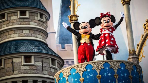 Mickey and Minny