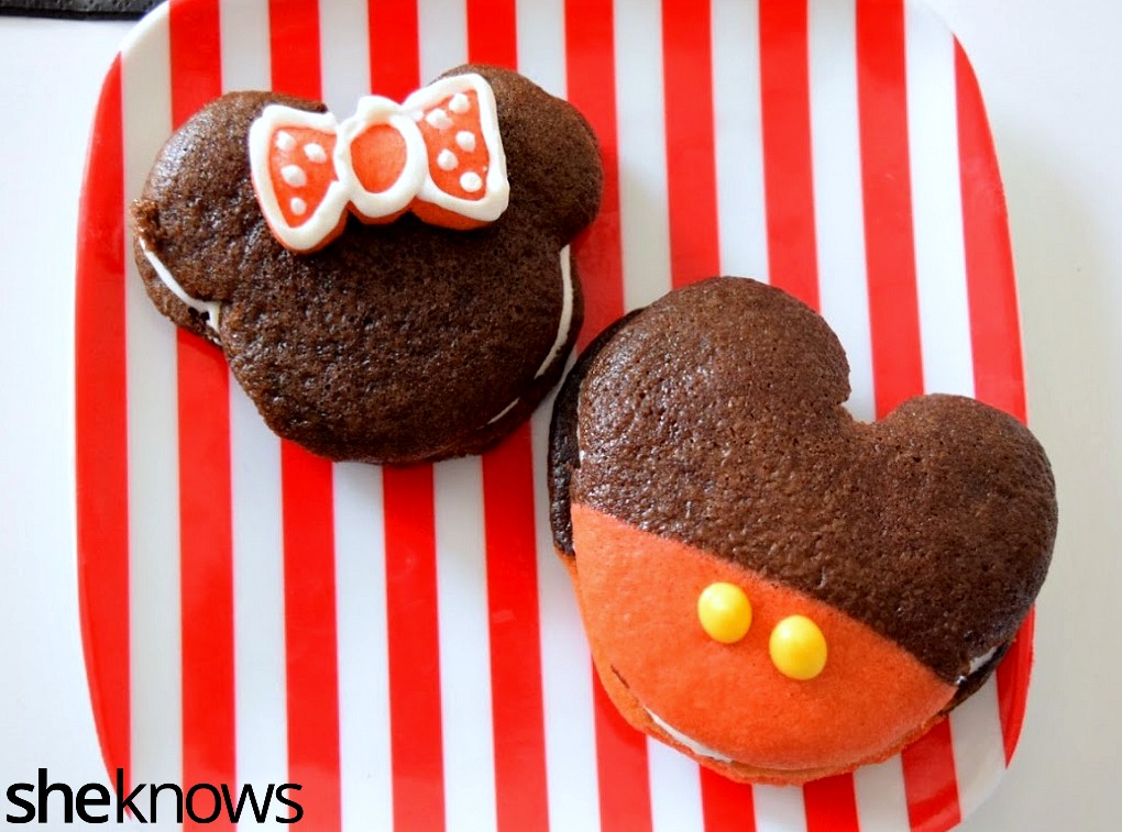 Minnie and Mickey Whoopie Pies