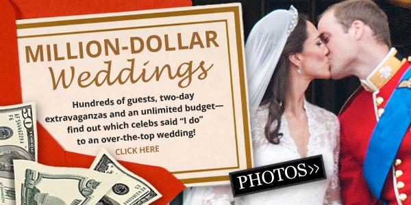 Million-dollar weddings banner