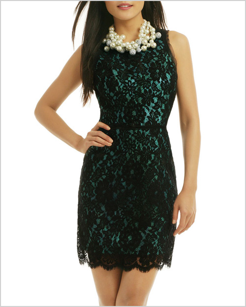 Milly Claudia Lace Dress