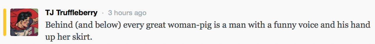 Miss Piggy Feminist Comments