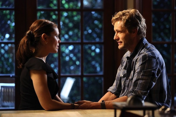 Savi and Harry talk in Mistresses