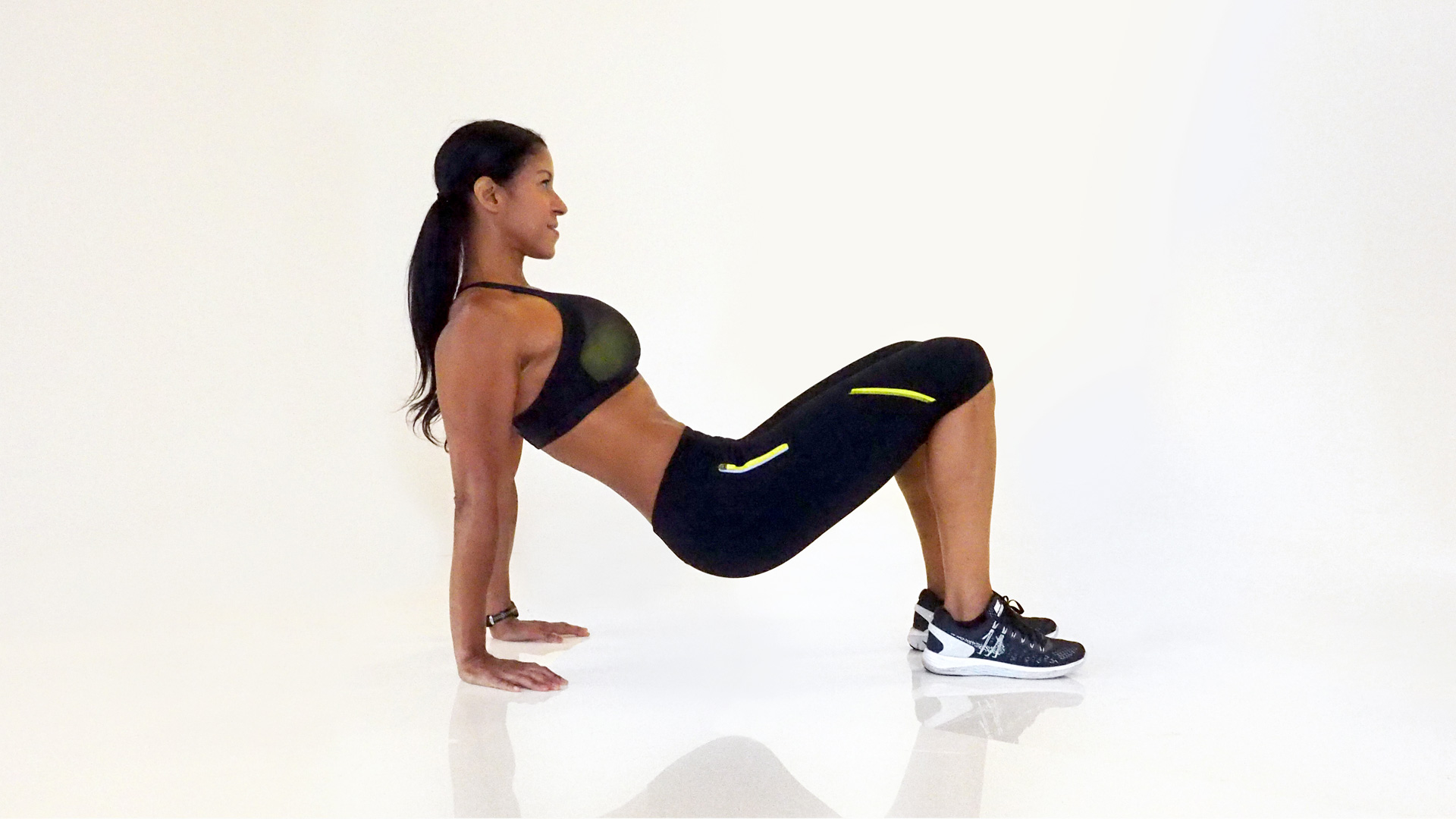 Push-up to tricep dips 2