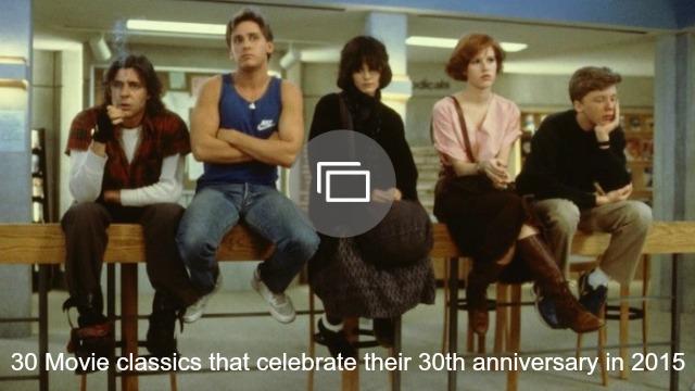 Movies celebrating 30th anniversary 2015 slideshow