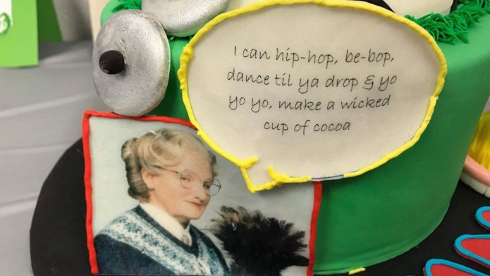 Little Boy's Mrs. Doubtfire-Themed Birthday Is
