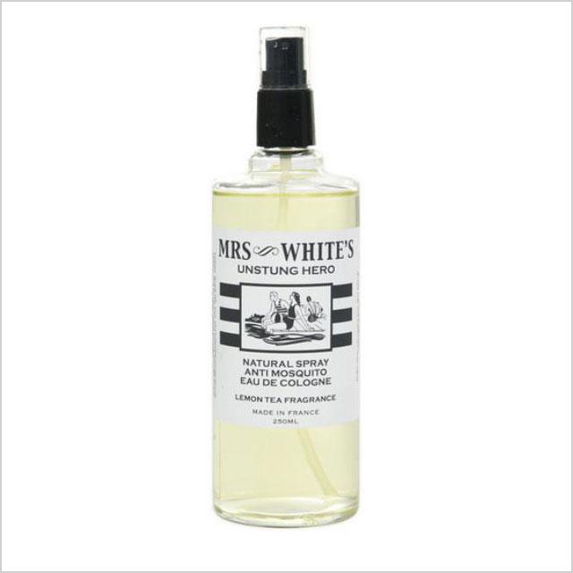 Mrs. White's Unstung Hero Natural Spray Anti-Mosquito Eau de Cologne