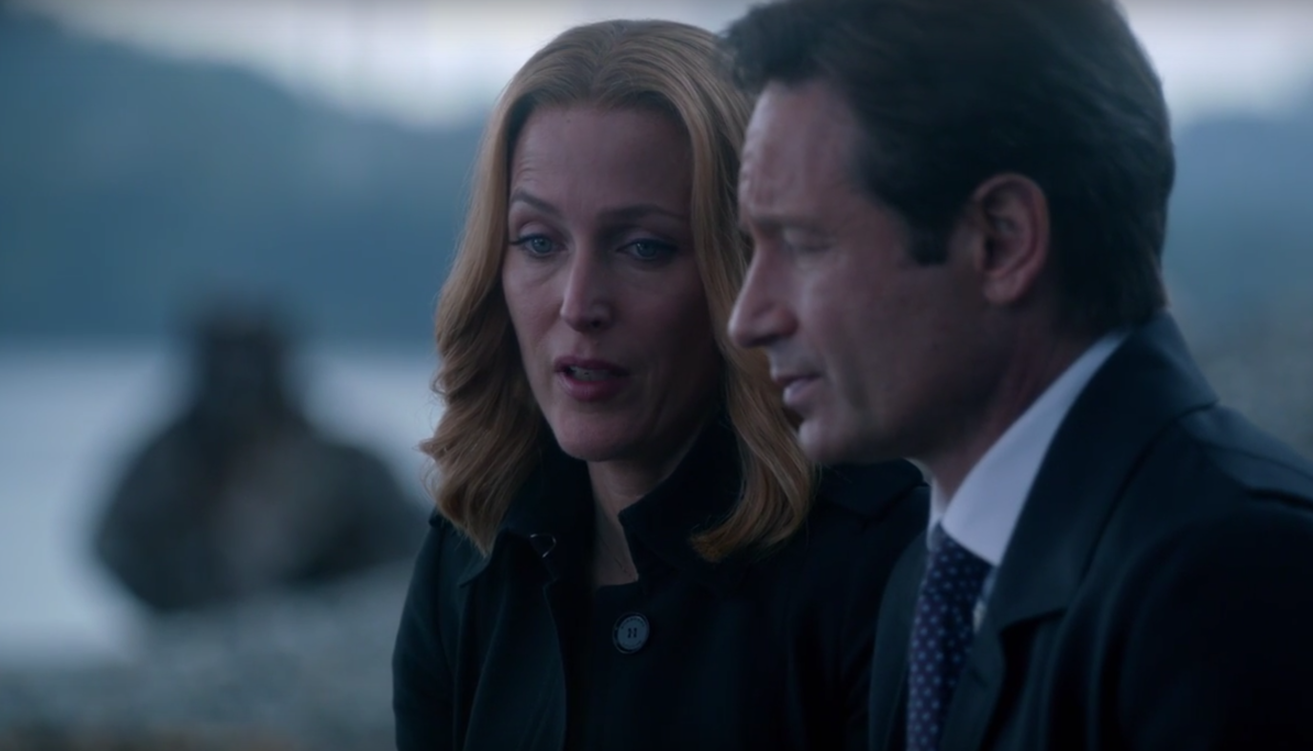 Mulder and Scully return in the X-Files