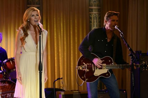 Rayna and Deacon on Nashville
