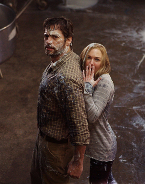 Harry and Renee get in a little mess in New in Town