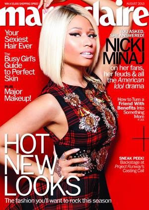 Nicki Minaj covers Marie Claire