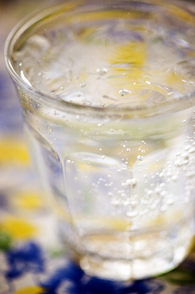 Include non-alcoholic drinks for your home bar