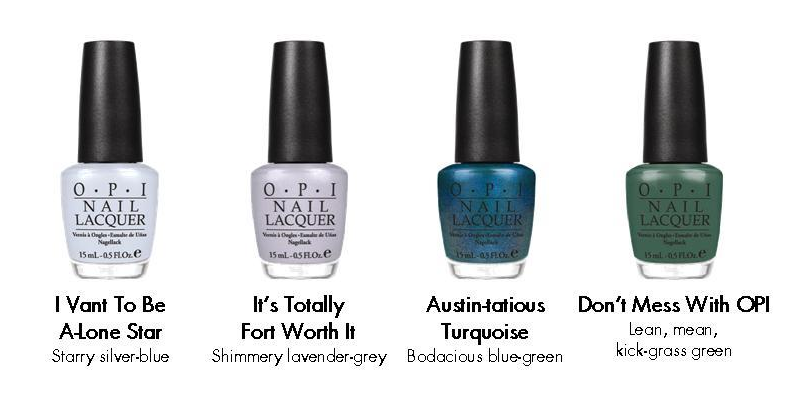 opi texas colors spring 2011 collection