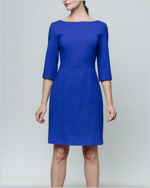 Of Mercer Madison Dress in Blue
