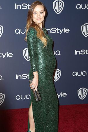 Olivia Wilde's Gorgeous Green Gucci Gown