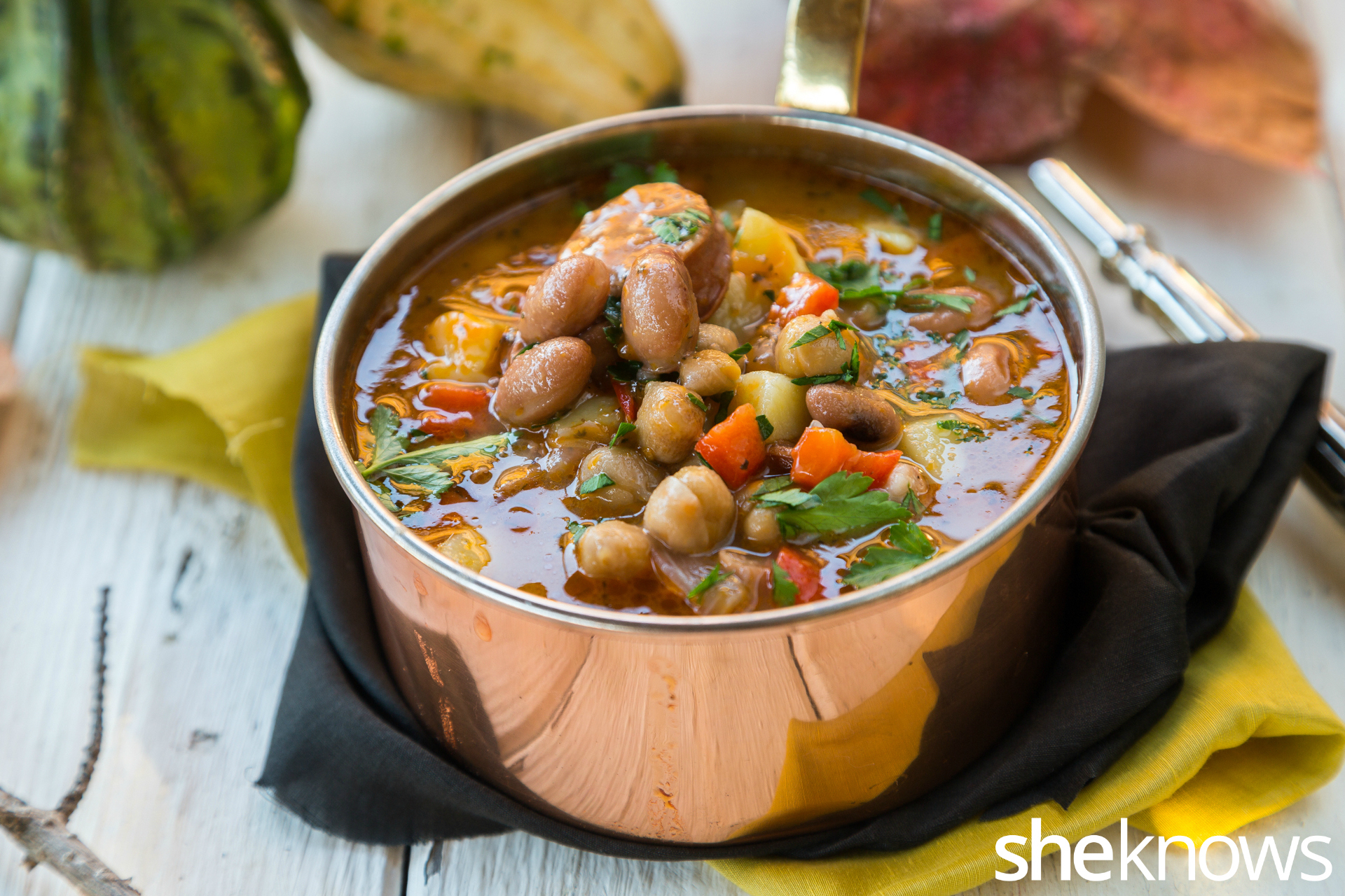 One-pot-chickpeas-chorizo-and-bean-soup 2