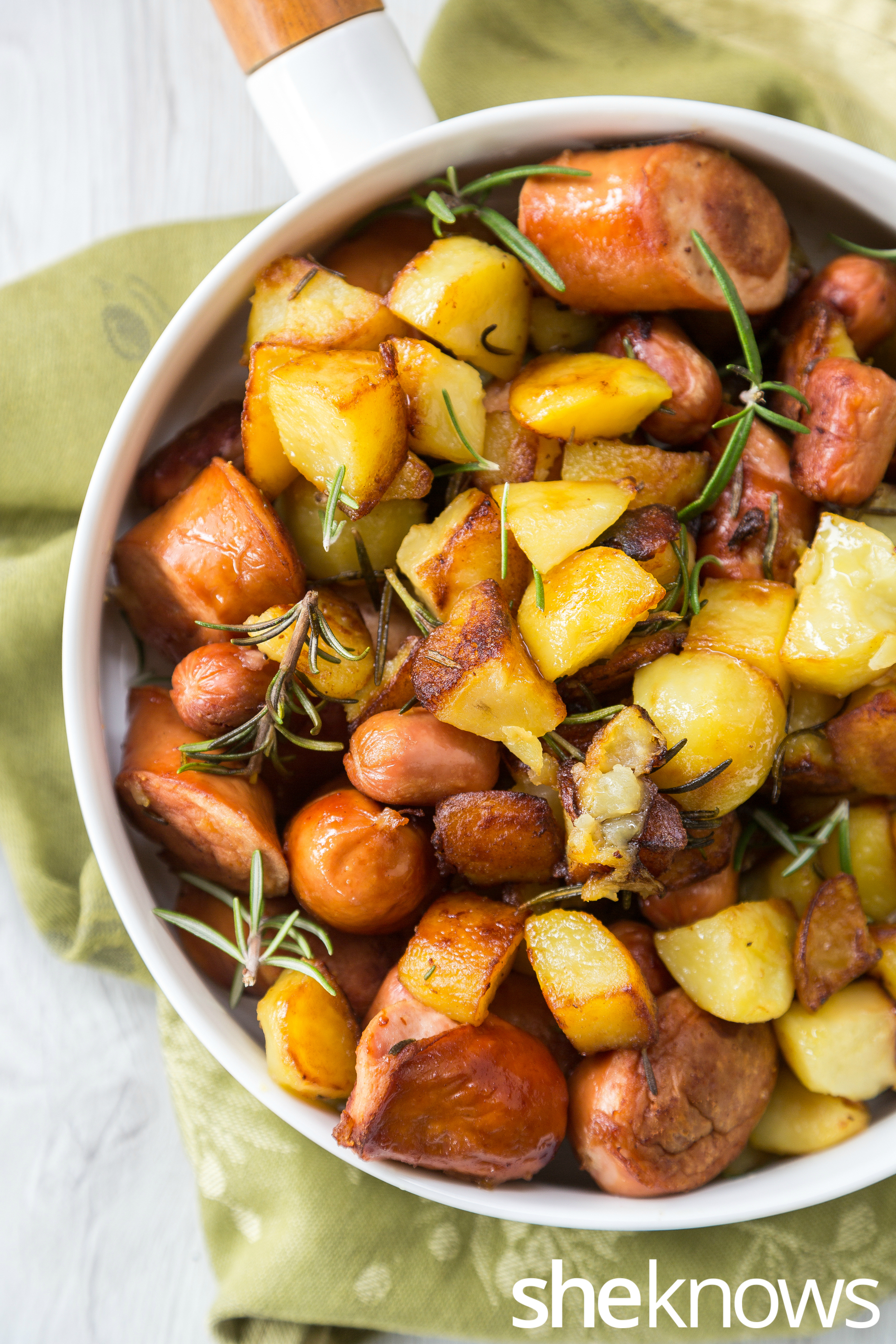 One-pot-potatoes-sausages-and-rosemary-vertical