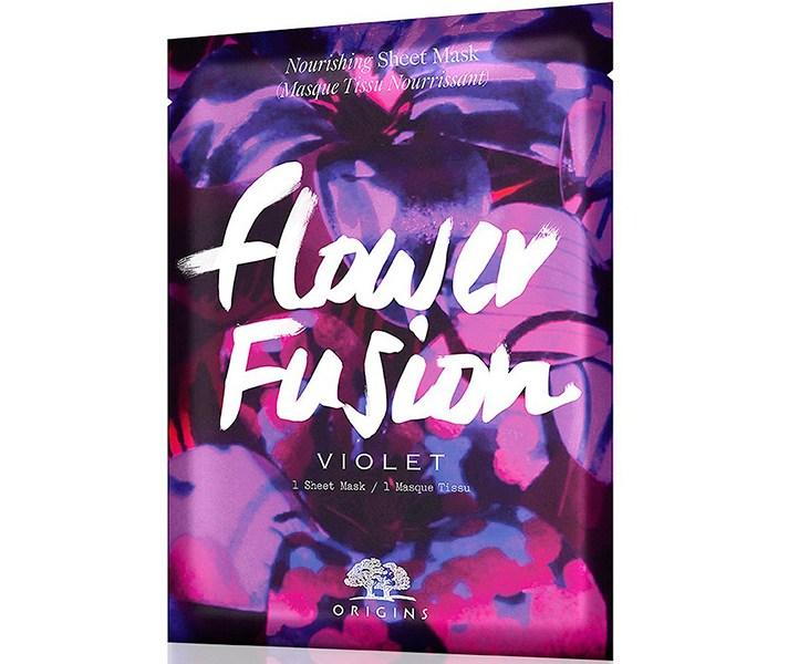 New Arrivals to Buy at Sephora 2017: Origins Flower Fusion Violet Nourishing Sheet Mask | Summer Makeup