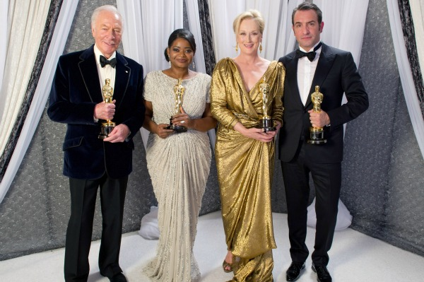 Oscar winners present