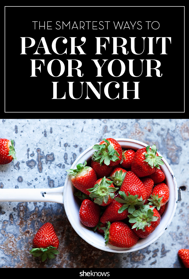 pack fruit for your lunch