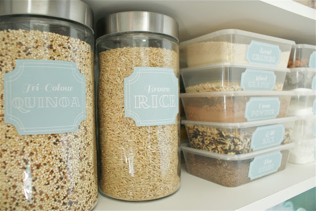 Use containers and labels | Sheknows.ca