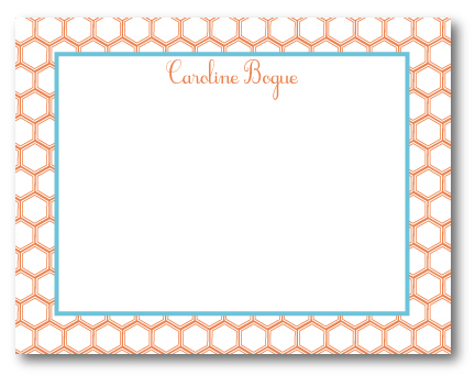 Papercourt Press Honeycomb Notecard