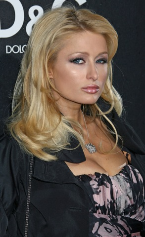 Paris Hilton out and about...meanwhile she's robbed