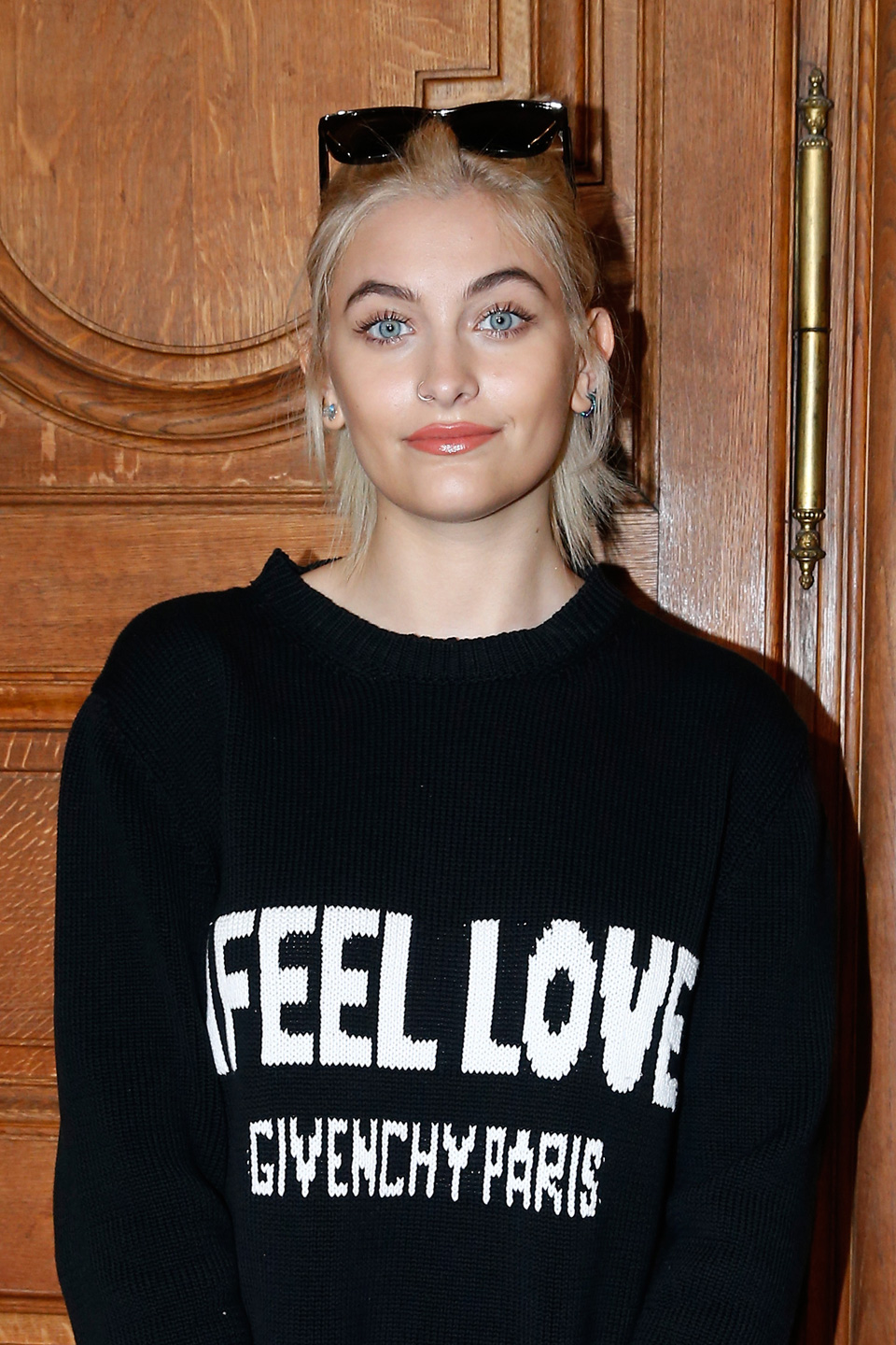 Paris Jackson in Givenche sweater