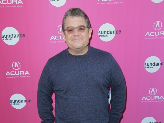 Comedian and actor Patton Oswalt