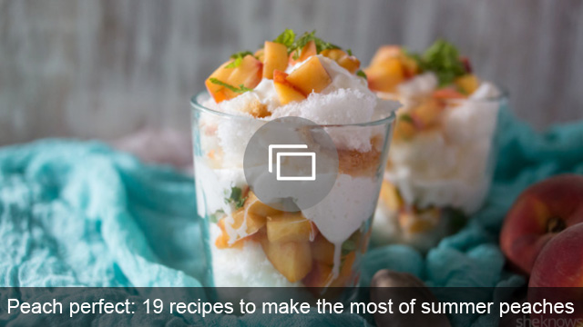Peach perfect: 19 recipes to make the most of summer peaches