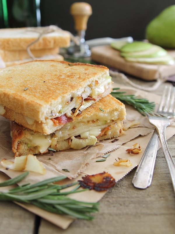 pear grilled cheese