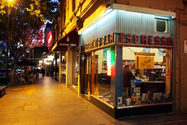 Pellegrini's in Melbourne