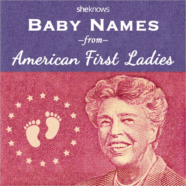 Powerful First Lady baby names for your little girl