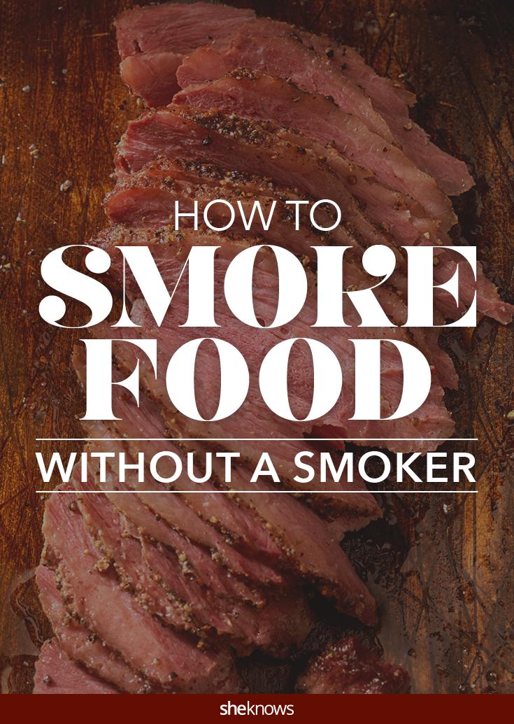 smoke without a smoker