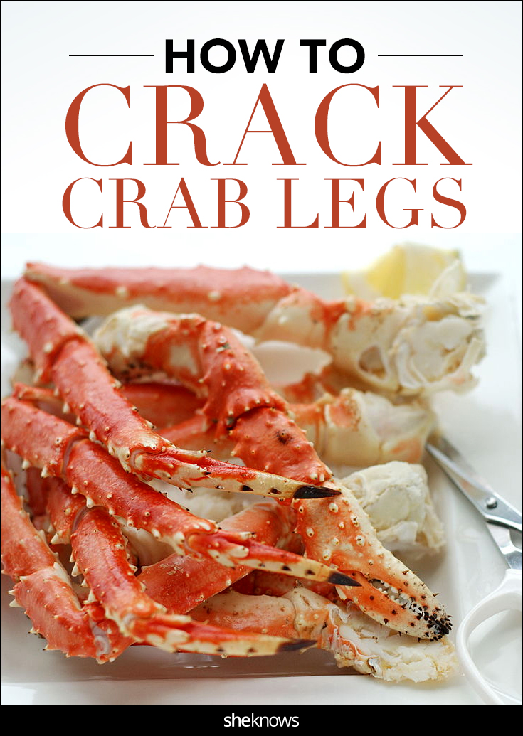 Crack open those succulent crab legs in 5 easy steps