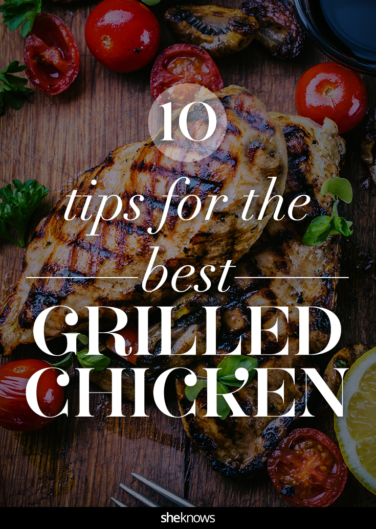 grilled chicken tips
