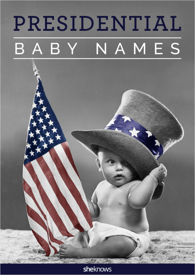 Presidential baby names