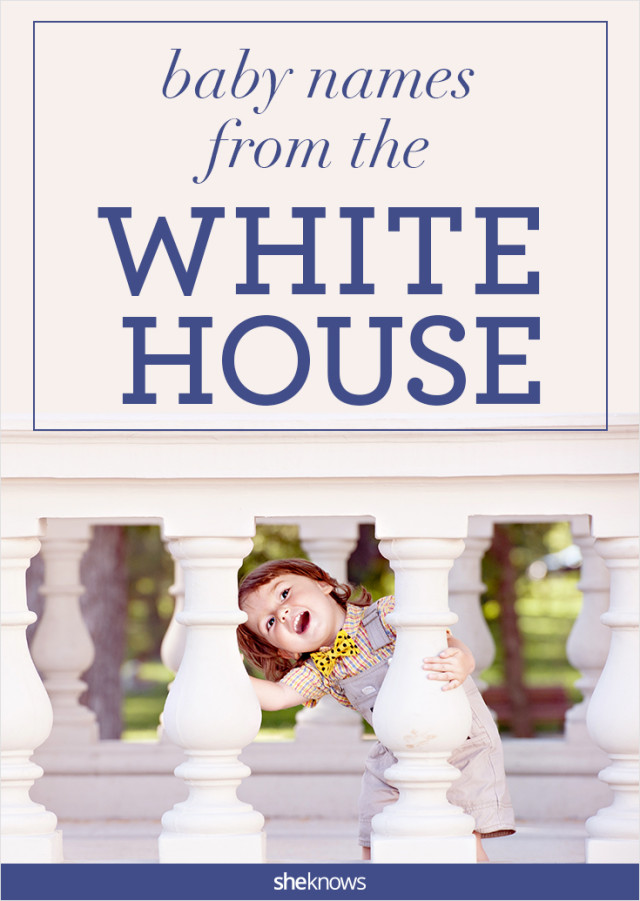 White House baby names