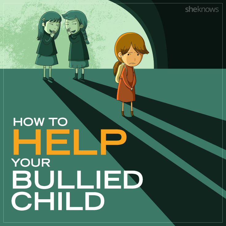 How to help your bullied child