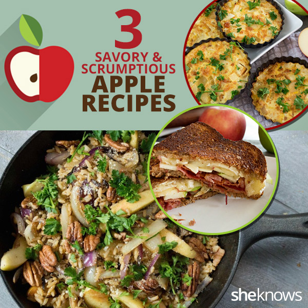 savory apple recipes