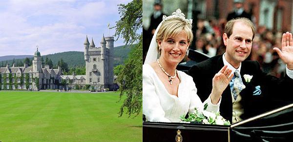 Prince Edward and Sophie Rhys-Jones' royal honeymoon