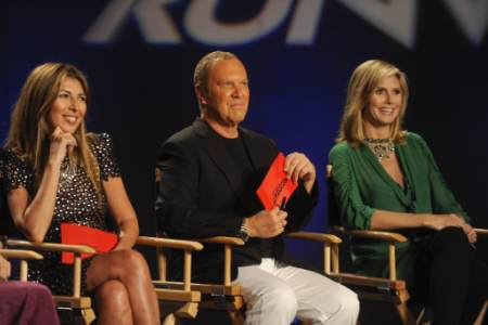 Michael Kors is back with Heidi Klum for another season of Project Runway