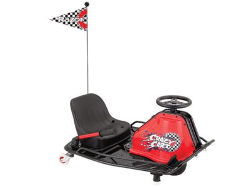Razor Crazy Cart Spinning Go Kart | Sheknows.com